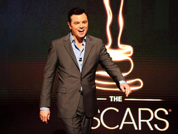 O apresentador Seth MacFarlane